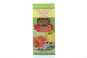 Сухари Росток с перцем и семенами УкрЭкоХлеб 150г