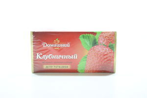 Чай черный Клубничный Домашний чай к/у 20х1.5г