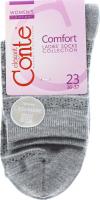 CONTE Шкарпетки жіночі Comfort 14С-66СП р.23 047 сірий
