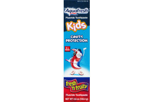 Aquafresh Kids Cavity Protection Fluoride Toothpaste Fresh 'n Fruity