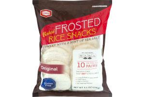 Kameda Baked Frosted Rice Snacks Original On-The-Go packs - 10 PK