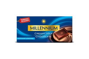 Шоколад молочный Millennium