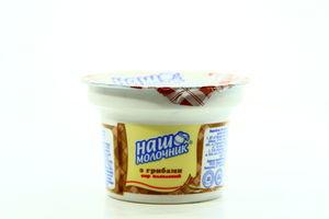 Сир Наш Молочник плавлений з грибами ст 60% 100г х25