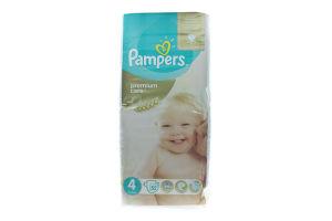 Подгузники детские 8-14кг Premium Care Pampers 52шт