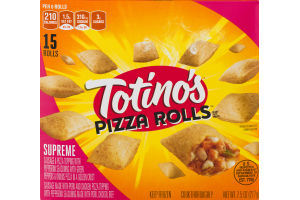 Totino's Pizza Rolls Supreme - 15 CT