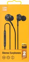 Стерео навушники чорнi HiRez Audio Luxe Cube 1шт