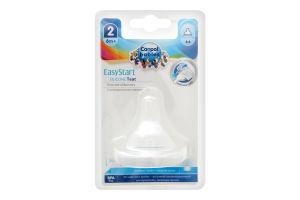 Соска для детей от 6мес молочная силиконовая №21/721 EasyStart Canpol babies 1шт