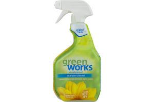 Green Works Bathroom Cleaner Original Fresh