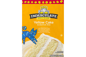 Immaculate Honestly Delicious Yellow Cake Scratch Mix