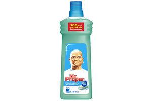 Средство для мытья полов и стен Горный ручей и прохлада Mr.Proper 750мл