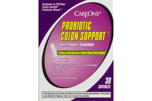 CareOne Probiotic Colon Support - 30 CT