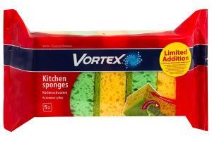 Губки кухонні Vortex 5шт
