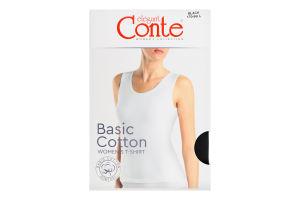 Майка жіноча Conte elegant Basic Collection №LM2020 170-96/L black