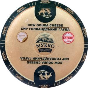 Сир 44.8% голландський Гауда Мукко кг