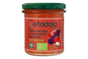Баклажани в томатній заливці Stodola с/б 300г
