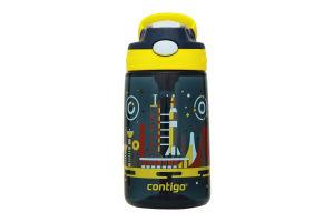 Бутылка детская Contigo Gizmo Flip синяя 0,42л