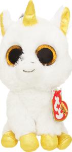 Белый единорог TY Beanie Boo's Pegasus, 15 см
