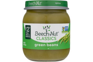 Beech-Nut Classics Stage 2 Green Beans