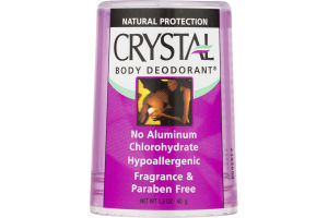 Crystal Body Deodorant Stick Fragrance & Paraben Free