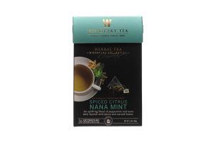 Чай зеленый Wissotzky Tea с марокканс мятой-специи