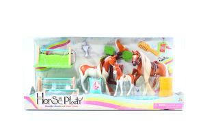 Іграшка Набір коней сім'я чемпіонів з дитиною