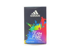 Туалетная вода мужская Team Five Special Edition Adidas 100мл