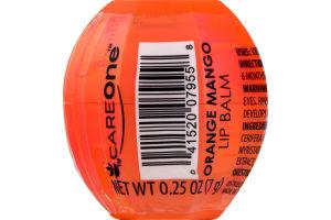 CareOne Lip Balm Orange Mango