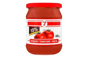 Продукт томатный 15% Паста 7 с/б 485г