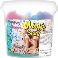 Набір для творчості для дітей від 3років світиться у темряві №372-8 Magic Sand Strateg 1шт
