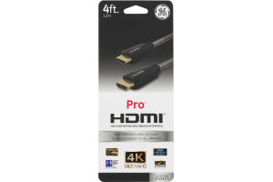 GE Pro HDMI Cable - 4 FT