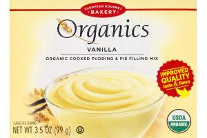 European Gourmet Organics Vanilla Organic Cooked Pudding & Pie Filling Mix