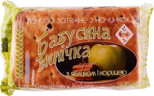 Печенье Zhytomir Бабушкина выпечка с яблоком/кориц