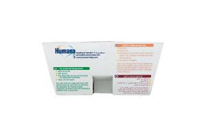 Продукт кисломолочний з персиком для дітей від 6міс Humana п/у 4х100г