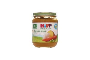 Пюре для детей от 4мес Овощное ассорти Hipp с/б 125г