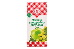 Нектар Виноградно-яблочный №1 т/п 1л