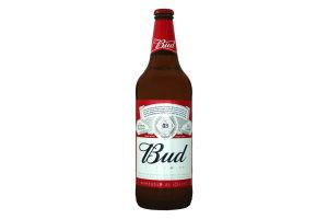 Пиво 0.75л 4.8% светлое Bud бут