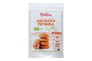 Суміш для приготування вівсяного печива органічна Добрик д/п 250г