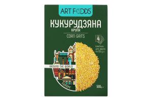Крупа кукурузная Art Foods к/у 500г