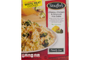 Stouffer's Cheesy Chicken & Broccoli Rice Bake Family Size