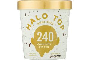Halo Top Light Ice Cream Mint Chip