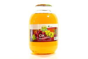 Сок виноградный осветленный Садиба с/б 3л