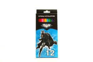 Олівці Бетмен кольорові 12шт 07101