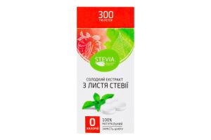 Добавка диетическая в таблетках Сладкий экстракт из листьев стевии Stevia к/у 30г