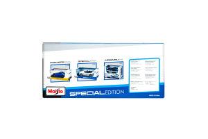 Автомодель Maisto Bugatti Chiron Blue/Black 1:24