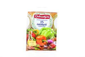 Приправа 15 овощей и пряностей Смаковита м/у 70г