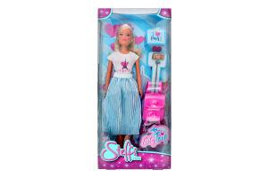 Лялька для дітей від 3років з аксесуарами №5733434 Подорож Steffi Love Simba 1шт