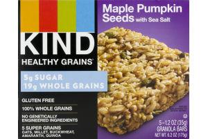 KIND Healthy Grains Granola Bars Maple Pumpkin Seeds - 5 CT