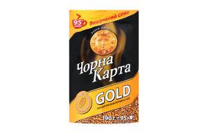 Кофе Gold растворимый сублимированый Черная Карта э/п 190г