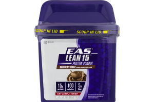 EAS Lean 15 Protein Powder Chocolate Fudge