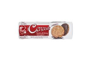 Печенье овсяное с темным шоколадом Piselli м/у 280г